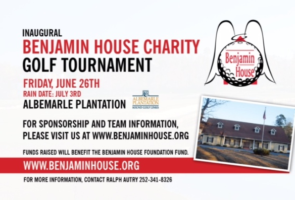 Benjamin House Golf Charity - Hand Out Card2